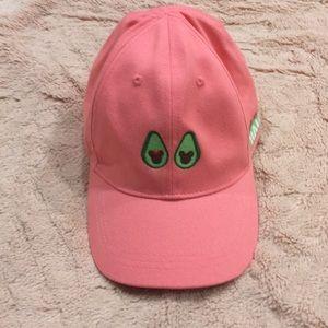 Disney avocado hat